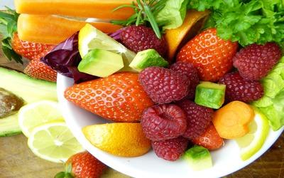 energía frutas