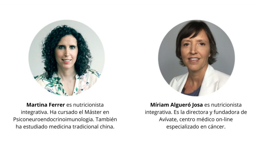 Martina Ferrer Nutricionista Integrativa - Míriam Algueró Nutricionista Integrativa